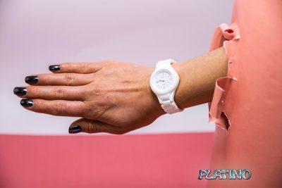 Reloj pulsera Dufour de silicona