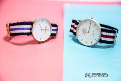 Reloj pulsera de tela Dufour