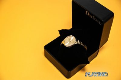 Reloj pulsera Dufour en metal