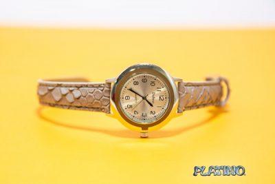 Reloj pulsera Dufour de cuerina