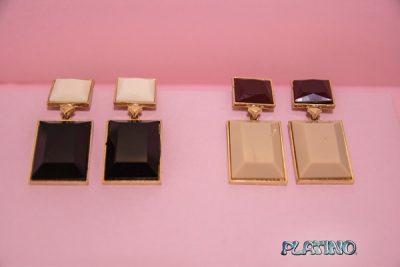 Aros de acrílico rectangulares